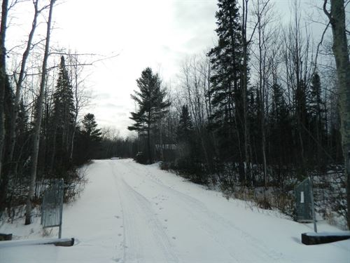 Hunting Buildable Parcel Sawyer : Exeland : Sawyer County : Wisconsin
