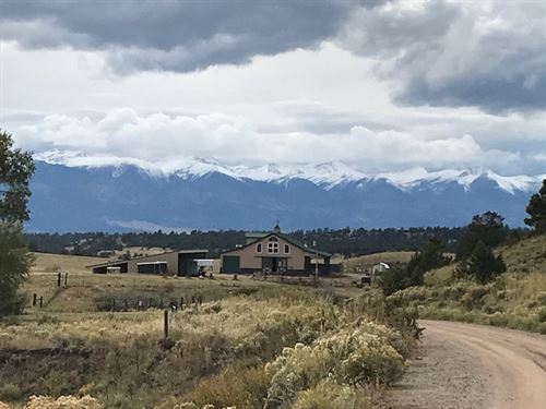 Ranch On Antelope Creek : Westcliffe : Custer County : Colorado