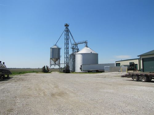 Northern Mo Grain Storage Facility : Wyaconda : Scotland County : Missouri