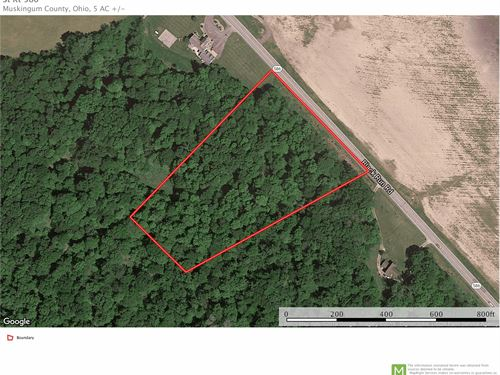 Sr 586, 5 Acres : Nashport : Muskingum County : Ohio
