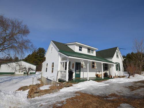 Maine Farmhouse in Passadumkeag : Passadumkeag : Penobscot County : Maine