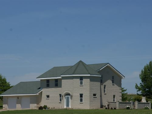 Oklahoma Country Home 153 Acre : Burbank : Osage County : Oklahoma
