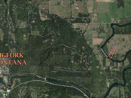 Swan Horseshoe : Bigfork : Flathead County : Montana