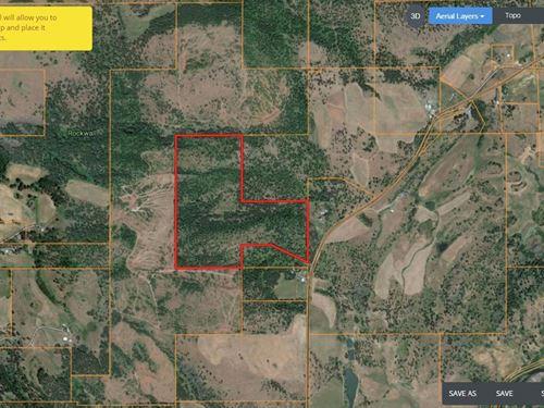 Eastern Oregon Timber Pasture Land : Elgin : Union County : Oregon