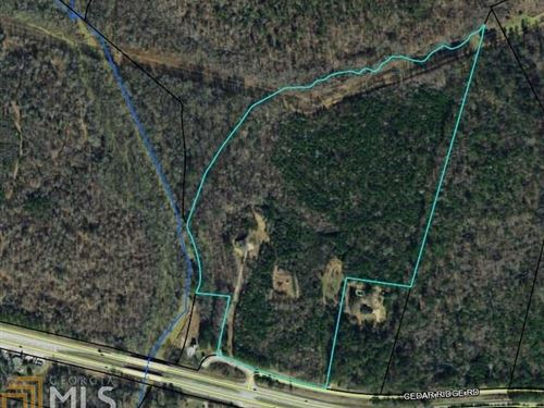 45 +/- Ac With Home On Alcovy River : Monroe : Walton County : Georgia