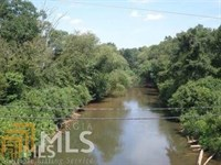 39 +/- Ac Of Land With River : Oxford : Walton County : Georgia