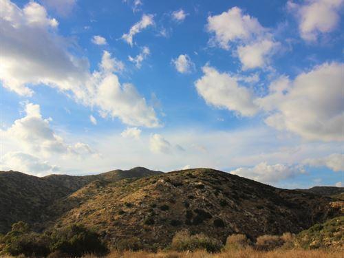 159 Acres Ranchita Property : Ranchita : San Diego County : California
