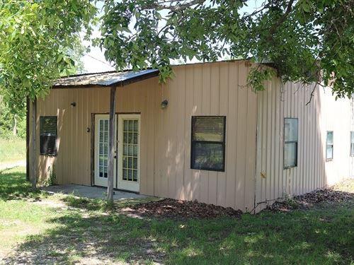 Metal Home Shop & Acreage Oxford : Oxford : Izard County : Arkansas