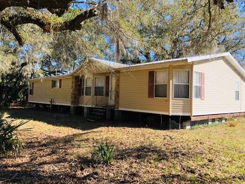 3/2 Dwmh On 75 Acres 777267 : Chiefland : Levy County : Florida