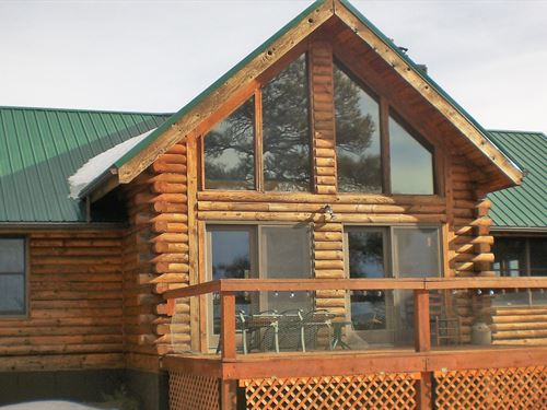 Log Home 35 Acres Trinidad : Trinidad : Las Animas County : Colorado