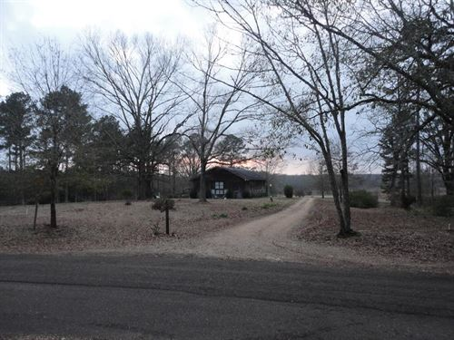 Rustic Home 30 Acres Bogue Chitto : Bogue Chitto : Lincoln County : Mississippi