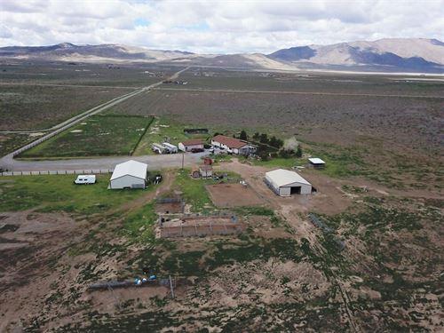 Horse Property/Ranch, Hemp Land : Reno : Washoe County : Nevada