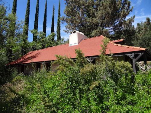 Historic Mesa Grande Adobe : Santa Ysabel : San Diego County : California