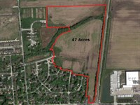 Deer Creek Estates Development Site : Wilmington : Will County : Illinois