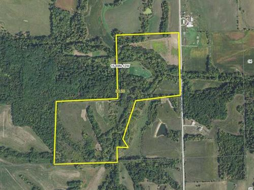 83.5 Acres Great Hunting Farm in : Bloomfield : Davis County : Iowa