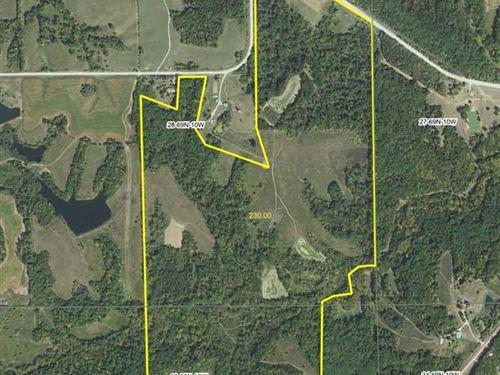 230 Acres Phenomenal Deer Hunting : Keosauqua : Van Buren County : Iowa