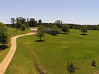Farm With Home In Butler County : Rutledge : Butler County : Alabama