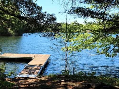 Beautiful Lake Home Building Site : Lac Du Flambeau : Vilas County : Wisconsin