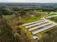 7 House Broiler Farm, Home & More : Franklin : Heard County : Georgia
