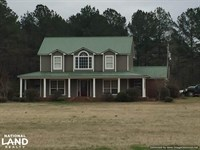 Beautiful Country Home With 4.94 Ac : Kosciusko : Leake County : Mississippi