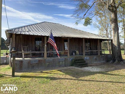 Mineola Family Farm Lake & Lodge Tr : Mineola : Monroe County : Alabama