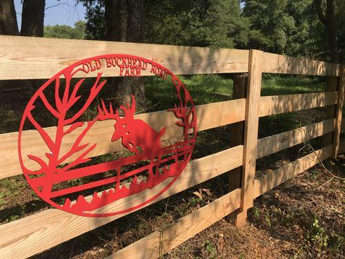 Old Buckhead Farm : Madison : Morgan County : Georgia