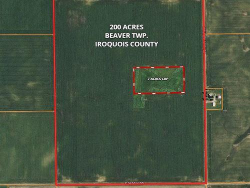 200 Ac Donovan Farm : Donovan : Iroquois County : Illinois