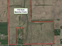 110 Acre Beecher Farm : Beecher : Will County : Illinois