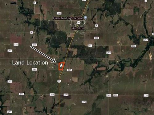 A Stunning 28.75 Acre Build Site : Hamilton : Greenwood County : Kansas