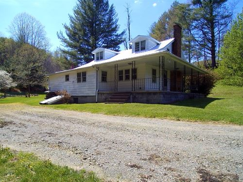Mini Farm, Pond And Creek : Elk Creek : Grayson County : Virginia