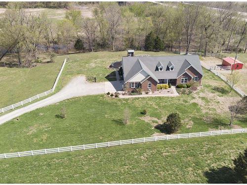 Custom Home & 75 Acre Cattle Farm : Fredericktown : Madison County : Missouri