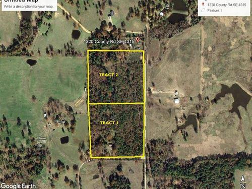 7 Wooded Acres East Texas Franklin : Winnsboro : Franklin County : Texas
