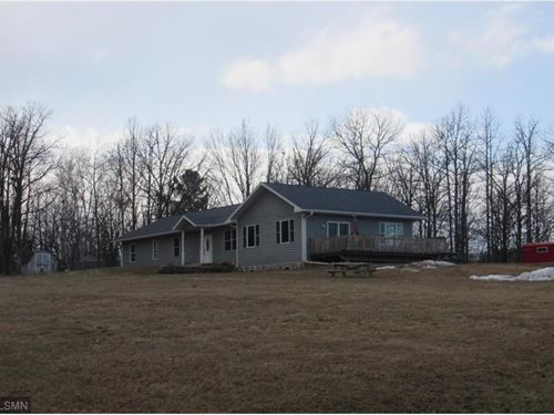 Slab Grade Country Home I-35, Atv : Moose Lake : Carlton County : Minnesota