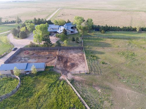 Reiradon Hills Horse Property : Sterling : Logan County : Colorado