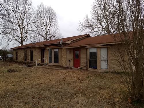 Spacious Country Home For Sale : Boswell : Pushmataha County : Oklahoma