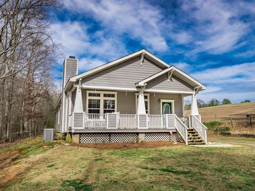Craftsman-Style Ranch On 7 Acres : Dacula : Gwinnett County : Georgia