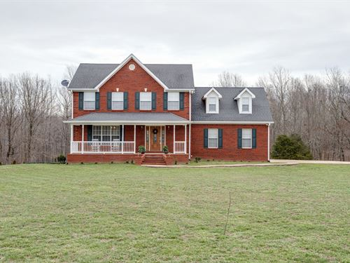 Country Home Acreage Summertown : Summertown : Lewis County : Tennessee