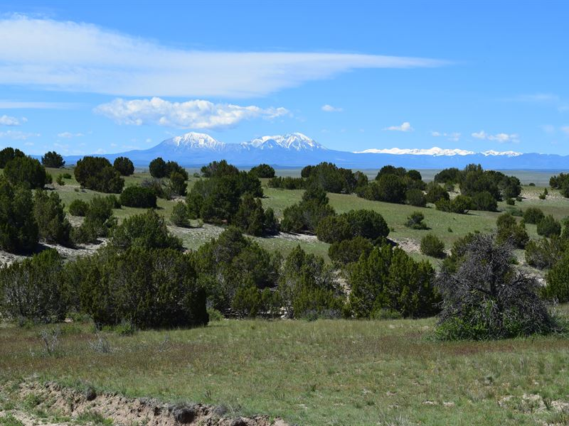 Colorado Hunting And Cattle Ranch : Walsenburg : Huerfano County : Colorado