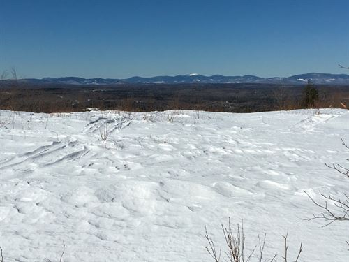 Acreage For Sale in Northern Maine : Sebec : Piscataquis County : Maine