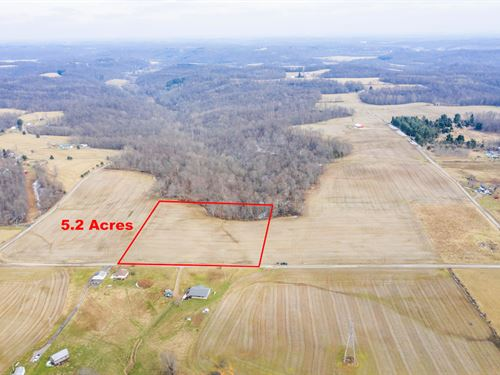 Norwalk Rd Tract 3, 5 Acres : Cambridge : Guernsey County : Ohio