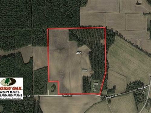 Under Contract, 61.04 Acres of Fa : Chadbourn : Columbus County : North Carolina
