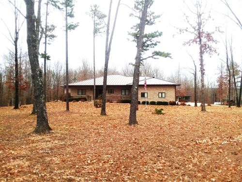 Custom Home 5.98 Acres, Horse : Raymondville : Texas County : Missouri