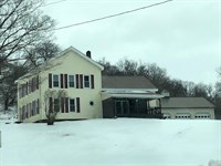 Dairy Farm in Herkimer County : Little Falls : Herkimer County : New York