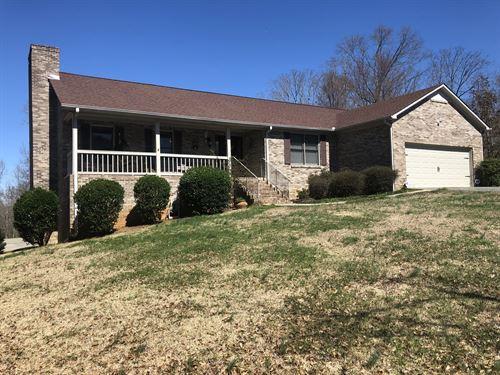 Home On 30.47 Acres Barn, Creek : Taylorsville : Polk County : Georgia