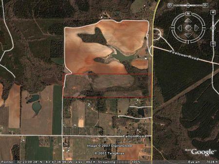 Large Estate Homesite : Perry : Houston County : Georgia