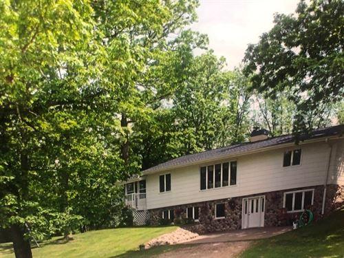 Country Home Waupaca River Waupaca : Waupaca : Wisconsin