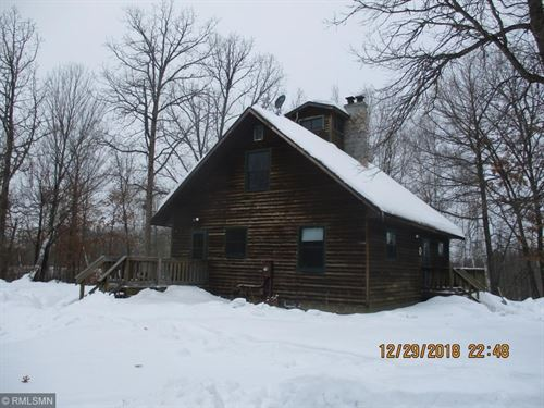 Riverfront Home Cabin Acreage : Sturgeon Lake : Pine County : Minnesota
