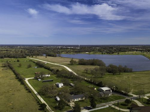 Beautiful Property With Great View : Madisonville : Madison County : Texas