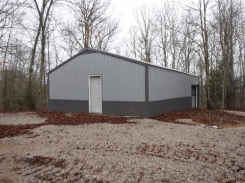 15.76 Ac, 30X40 Pole Barn, Mtn View : Celina : Clay County : Tennessee