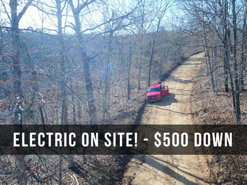 $500 Down On 7 Acres With Electric : Ava : Douglas County : Missouri